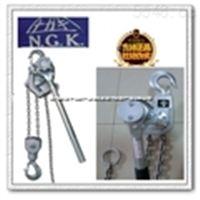 NGK铝合金手扳葫芦| 1.5t3m日本NGK手扳葫芦日本进口原装