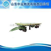 厂家定制平板拖车,平板拖挂车
